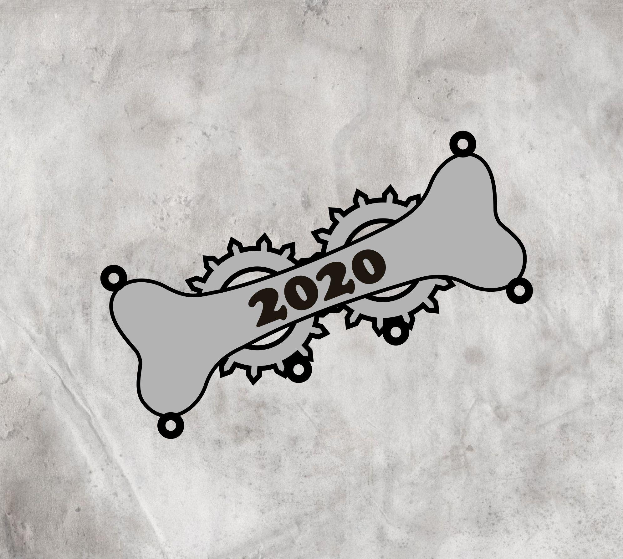 """Значок """"Косточка 2020"""""""