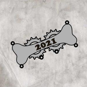 """Значок """"Косточка 2021"""""""